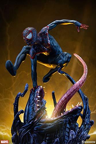 Sideshow Marvel Spider-Man Miles Morales Premium Format Figure Statue image