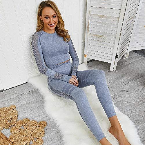 RRUI Sportswear panty & leggings voor dames trainingspak sport fitness kleding lopen vrouwelijke mesh garen melk zijde yoga pak spandex wit S