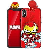 マーベル アベンジャーズ Marvel Avengers フィギュア 鏡ミラー·カード収納ケース Figure Mirror Card Case (Samsung Galaxy S10+ Plus, アイアンマン Iron Man) [並行輸入品]