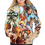 Shichangwei Legend of Korra Hoodie Womens 3D Printed Fashion Sweatshirt Hooded Sweat