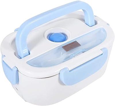 電気弁当箱 電気ランチボックス ポータブル 携帯便利 健康安全 耐久性と実用性に優れる 電気加熱式 スプーン付き