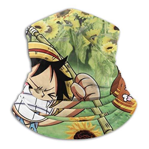 fenrris65 One Piece Microfiber Tube Neck Warmer Face Mask Shield Protective Bandana Headband & Beanie