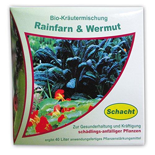 Schacht 1kmschad200 Bio-Kräutermischung Rainfarn & Wermut 200 g Pflanzenstärkungsmittel zur Gesunderhaltung schädlingsanfälliger Pflanzen