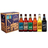 Hobsons Mixed English Real Ale & Beer Gift Set - Mixed Taster Selection Case - 6 x
