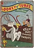Looney Tunes Dell Comic Blechschilder Vintage Metall Poster