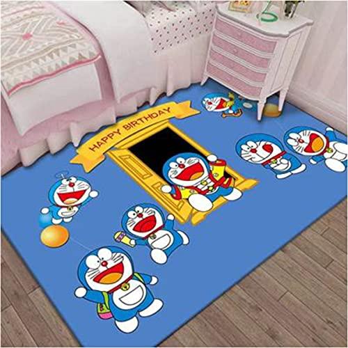 Tappeto Rettangolare Camera Da Letto Soggiorno Camera Dei Bambini Bagno Cucina Divano Balcone Bovindo Tatami Anime Cartoon Doraemon Gioco Toy Mat