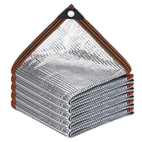 Malla sombreadora 55% Anti-UV Silver Sun Shading Net, Invernadero De Jardín Planta Suculenta Red De Sombrilla Cubierta De Piscina Al Aire Libre Red De Sombra De Sol (Size : 2X3M)