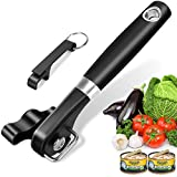 Can Opener Kitchen Safety Manual Can Opener for Restaurant No Sharp Edges Can Opener for Arthritis Camping Can Opening tool Side Cut Manuel Can Opener Hand Held Smooth Edge Can opener Ergonomic Handle