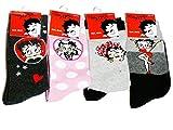 Betty Boop - Calcetines - para mujer multicolor 16 Años