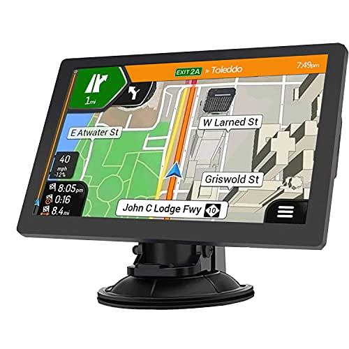 Sat Nav, GPS Navigation 9 Inch for Car Truck Lorry HGV...