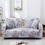 PPOS Sala de Estar Funda de sofá en Forma de L Four Seasons Funda de sofá Todo Incluido Funda de sofá de Esquina Suave Funda de sofá Universal D10 4 plazas 235-300cm-1pc