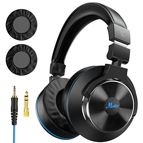 Best Prices! Moukey Wired Over Ear DJ Stereo Monitor Headphones, Professional Studio Monitor & Mixin...
