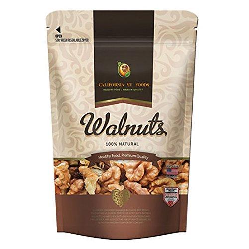 California 2020 Walnuts Big Butterfly Kernel ( 3x16oz Packs )