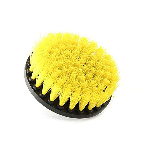 SODIAL Cepillo de Taladro Limpiador Multiuso Cepillos de fregado para la Superficie del Bano azulejo de lechada Tina Ducha Cocina Auto