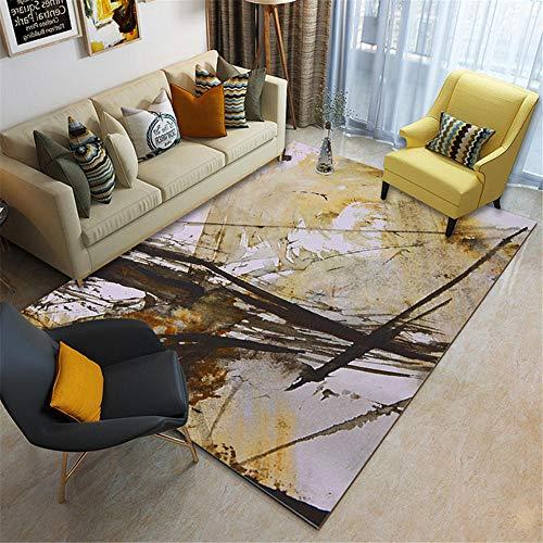 Kunsen Alfombra Silla Gaming Alfombra para Salon Alfombra de Dormitorio Gris Terciopelo Corto Estilo Moderno Humedad alfombras en Rollo 50X80CM 1ft 7.7' X2ft 7.5'