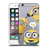 Head Case Designs Officially Licensed by Despicable Me Banana Funny Minions Soft Gel Case Compatible with Apple iPhone 6 / iPhone 6s