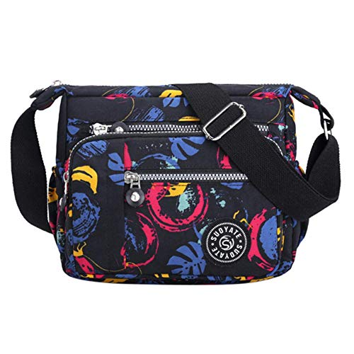 YDZ Nylon Schoudertas Veelzijdige Messenger Bag Dames Waterdichte Crossbody Tassen