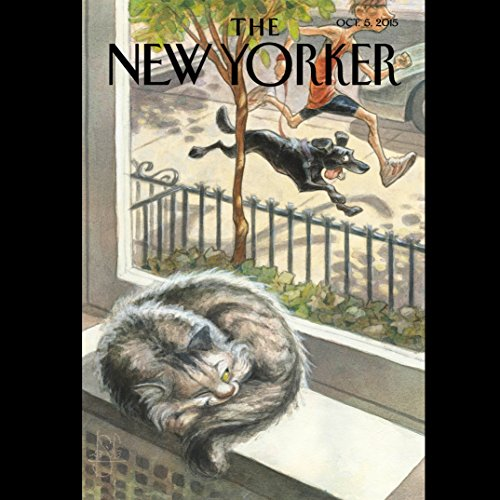 The New Yorker, October 5th 2015 (Jennifer Gonnerman, William Finnegan, Rania Abouzeid) audiobook cover art