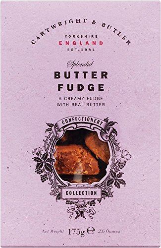 Cartwright & Butler Butter Fudge in carton, Weichkaramell mit Butter, 1er Pack (1 x )