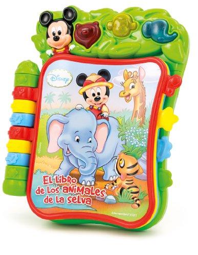 Libro musical amigos Baby Mickey Disney