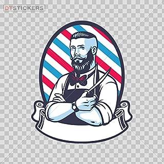Vinyl Stickers Decals Barber Shop Sign Garage Home Window D217 22648