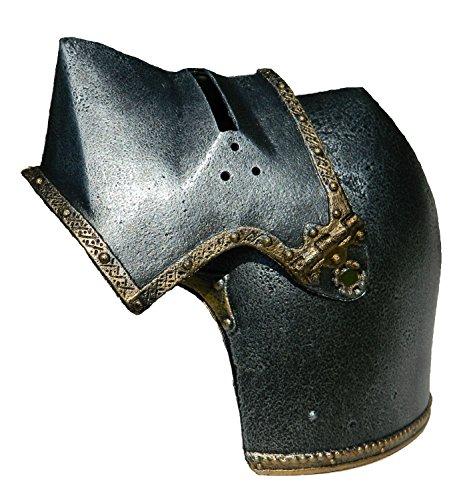 Helm eines mittelalterlichen Kriegers. Spielhelm - 2