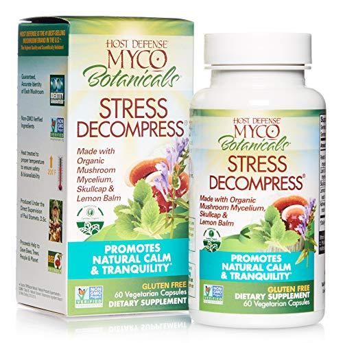 Host Defense, MycoBotanicals Stress Decompress, Mushroom and Herb...