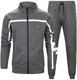 MANTORS Men's Full Zip Tracksuit Set Casual Jogging Athletic Sweat Suits