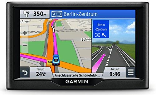 Garmin-nuevi-LMT-Navigationsgeraet-lebenslange-Kartenupdates-Premium-Verkehrsfunklizenz-Touchscreen