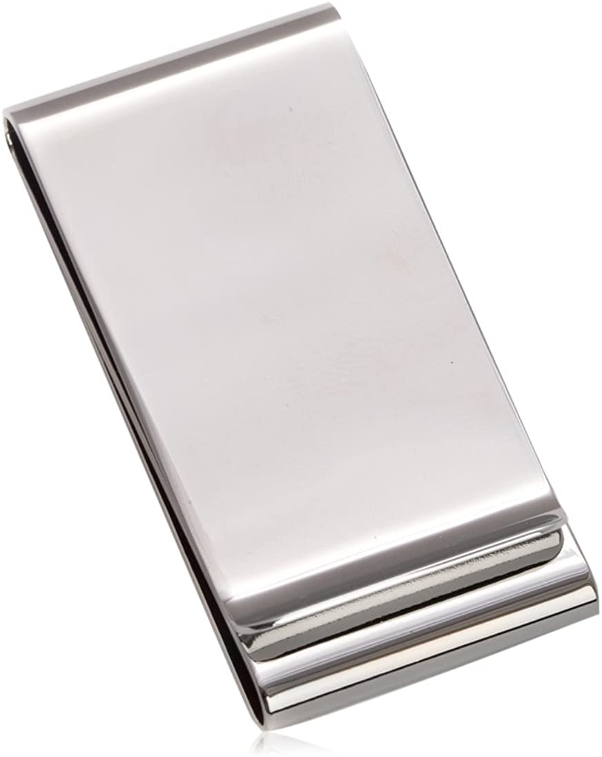 Don't miss the campaign Money Clip Silver Plated Detroit Mall BB198S
