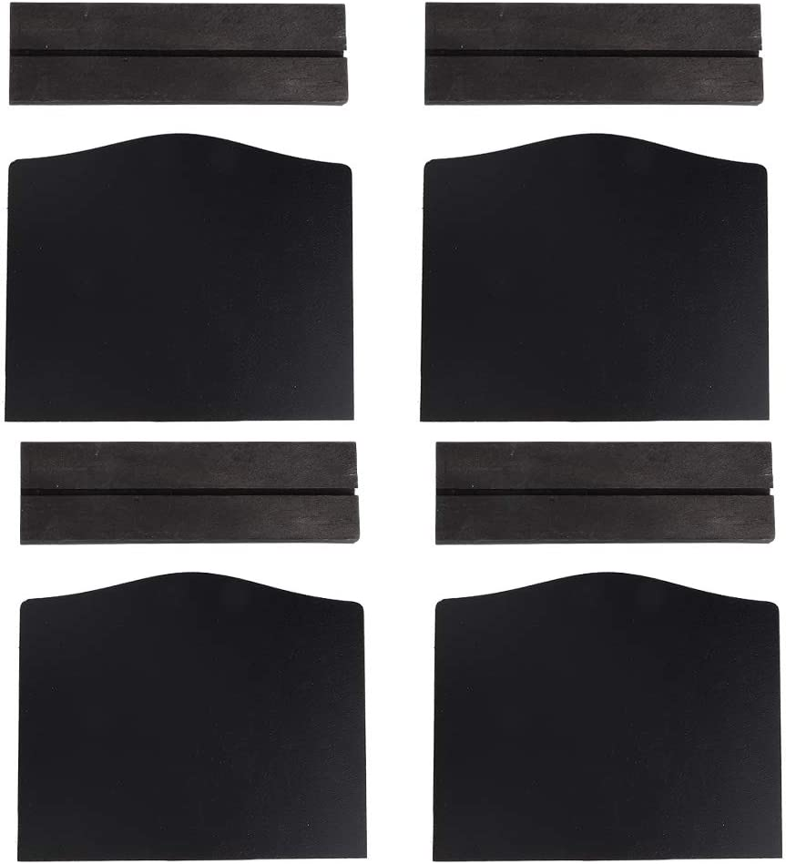 Goick Message Board-4Pcs Set Factory outlet Double-Sided Innovative Max 66% OFF Blackb Mini