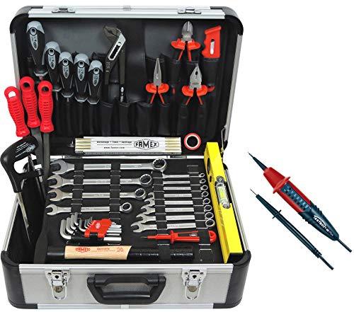 FAMEX 729-93 Alu Werkzeugkoffer Set...