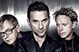 WOAIC Depeche Mode Poster for Bar Cafe Home Decor Painting