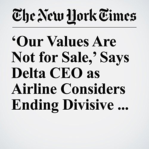 'Our Values Are Not for Sale,' Says Delta CEO as Airline Considers Ending Divisive Discounts copertina