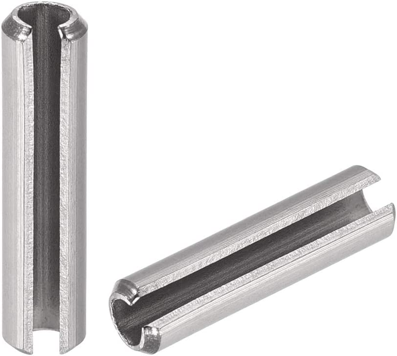 uxcell Slotted Spring Factory outlet security Pin - M5 Split x 40mm Stainless Steel 304