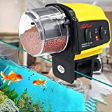 MZY1188 Auto Fish Food Dispenser,Automatic Feeders for Fish Tank/Aquarium/Weekend/pond,Automatic Electrical Fish Timer Feeder Portable Fish Feeder Tools