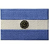 Argentinien Flagge National Bestickter Aufnäher zum Aufbügeln/Annähen