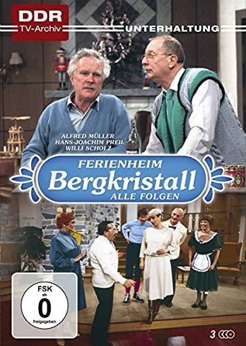 Ferienheim Bergkristall - Die komplette Serie (DDR-TV-Archiv) [3 DVDs]