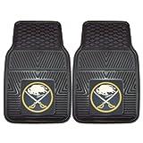 FANMATS 10508 NHL - Set di 2 tappetini per Auto in Vinile Resistente