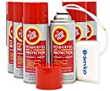 Fluid Film 11.75 oz. Spray 6-Pak, Spray can Extension Wand, Bonus Number 1 in Service Wallet Size Tissue Pack
