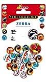 COFALU KIM PLAY - 9034 - 20 et 1 filet de Billes - Zébra , color/modelo surtido