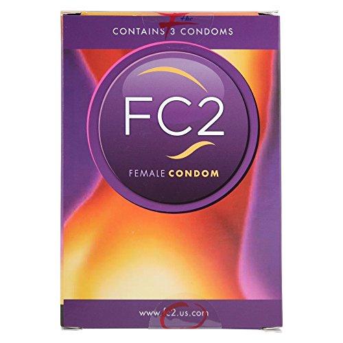 Preservativo femenino Femidom en un paquete de 3 unidades