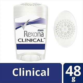Rexona Antitranspirante Clinical en Crema para Caballero, 48 gr (el empaque puede variar)