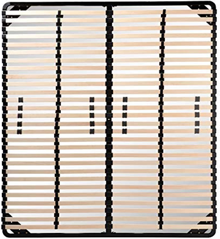 I-flair Lattenrost 180x200 cm, Lattenrahmen für alle Matratzen geeignet - alle Gren
