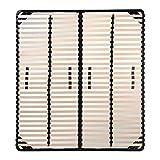 i-flair Lattenrost 160x200 cm, Lattenrahmen für alle Matratzen geeignet - alle Größen