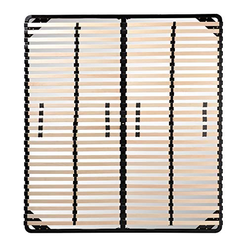 i-flair® Lattenrost 140x200 cm, Lattenrahmen für alle Matratzen geeignet - alle Größen