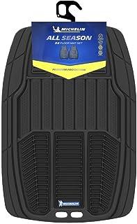 MICHELIN Premium Car Rubber Mat Set Black (2 Pcs) - W917BLK