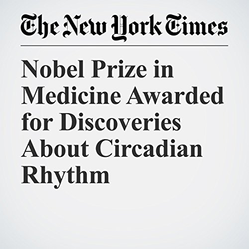 Nobel Prize in Medicine Awarded for Discoveries About Circadian Rhythm copertina