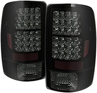 For 00-06 Suburban Taho Yukon Yukon Denali Black Smoke LED Tail Lights Brake Lamps FOR LIFTGATE MODEL