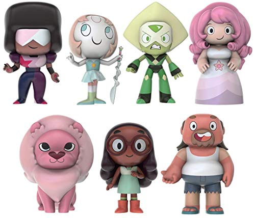 SDCC 2017 Steven Universe Series 2 Exclusive 8pcs Figure Set with sticker